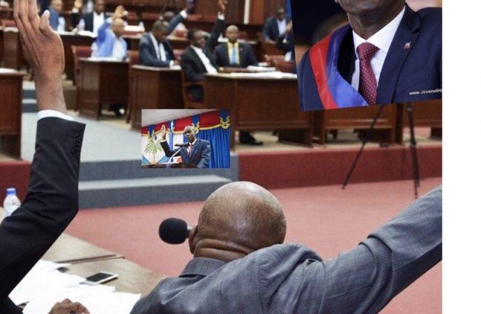 Rejet de la mise en accusation du Président Jovenel Moïse