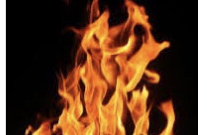 Des flammes constatées au Parlement