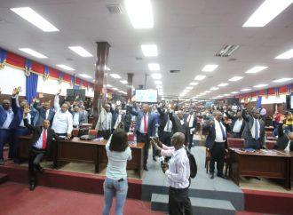 Les députés votent en faveur de la déclaration l'énoncé de politique générale de  Fritz William Michel