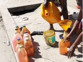 5 vendeurs de carburant au marché noir arrêtés par la PNH