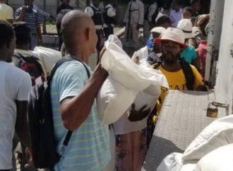 En pleine crise, le FAES continue de secourir les habitants de Cité-Soleil