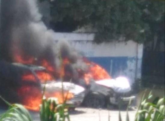 A Léogâne, des bâtiments publics et une station de radio incendiés par des manifestants