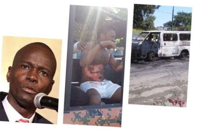 Haïti-Crise: Jovenel Moïse condamne les actes de violence et présente ses sympathies aux victimes