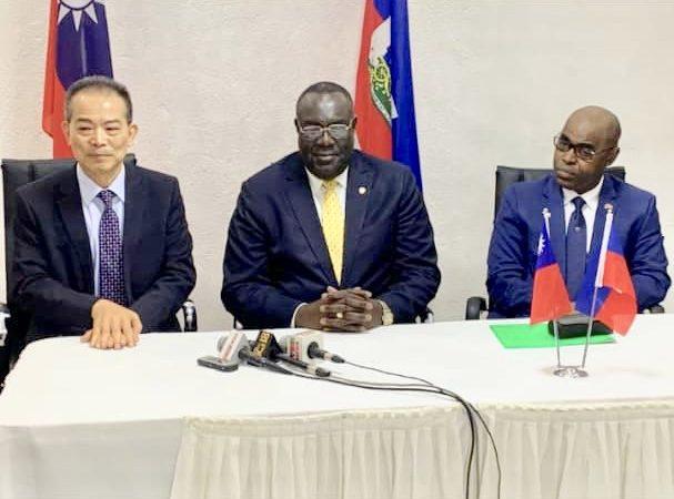 Chine-Taiwan appuie le projet «Kore pèp » à hauteur de 4.5 millions de dollars