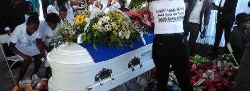 Les Funérailles de 5 militants de l'opposition chantées à Port-au-Prince