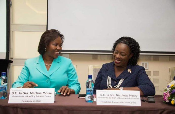 Au Panama, Martine Moïse participe à un colloque sur la lutte contre le SIDA