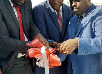 Inauguration d'une succursale de l'ONA à Trou du Nord