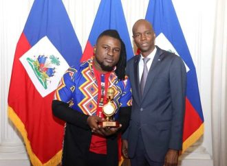 Haïti-Culture: Manno Beats reçu au Palais national par Jovenel Moïse