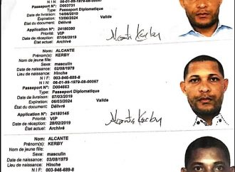 Accusé de faux et usage de faux, Kerby Alcante libéré provisoirement sous ordre du parquet de Port-au-Prince