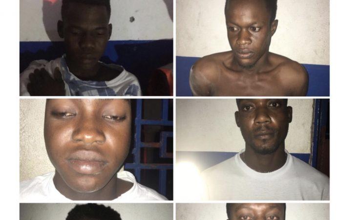 Saint-Marc: Interpellation de 9 présumés bandits
