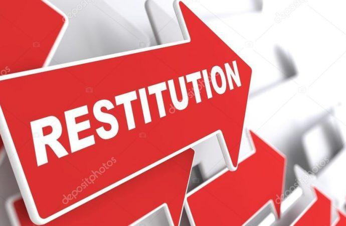 Restitution exigée des biens et matériels du Sénat