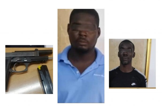 Port-au-Prince: arrestation de trois présumés bandits