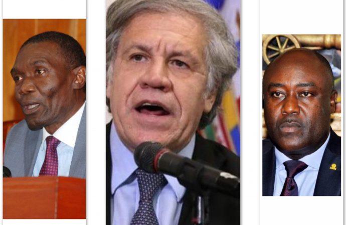 Luis Almagro a discuté avec opposants et alliés du pouvoir