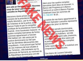 Haïti-Politique : Les fake news pleuvent et à nouveau Laurent Lamothe en est la cible ! Mais pourquoi ?