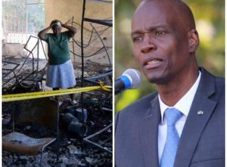 Fermathe-Orphelinat incendié: attristé, Jovenel Moïse ordonne à la justice de faire la lumière