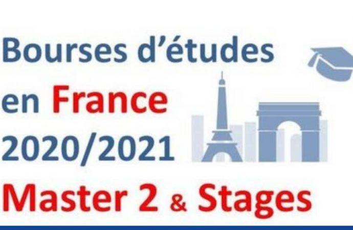 Lancement du programme de bourses d'étude et de stage en France 2020-2021
