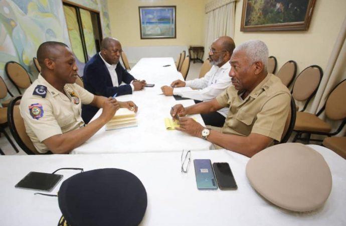 Fructueuse rencontre entre les responsables des FAD'H et de la PNH