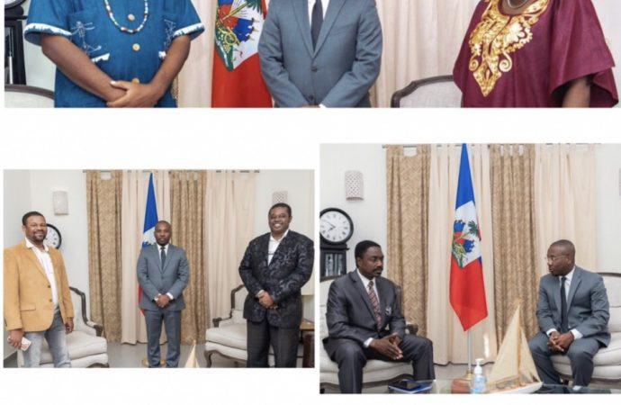Coronavirus-Sensibilisation citoyenne: le ministre haïtien des Cultes rencontre des responsables religieux