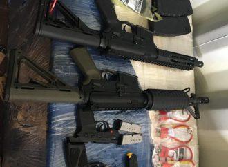 Cap-Haïtien-AGD: 7 armes saisies, 3 personnes interpellées