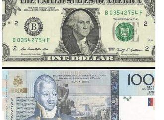 Économie: pratiquement 100 gourdes pour un dollar américain