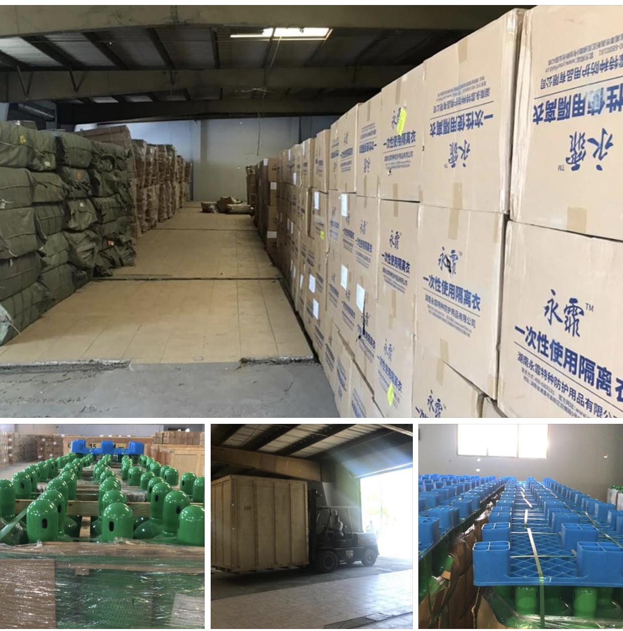 Coronavirus : distribution des matériels et d'équipements médicaux