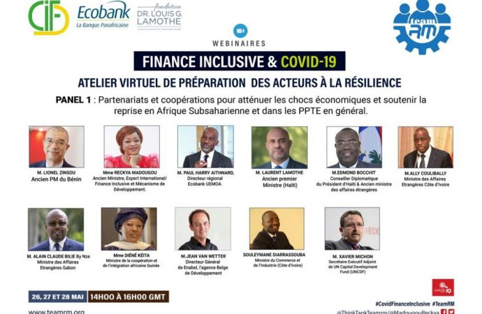 """"""" La technologie et le financement innovant sont au cœur de la relance économique post COVID-19 """", selon Laurent Lamothe"""