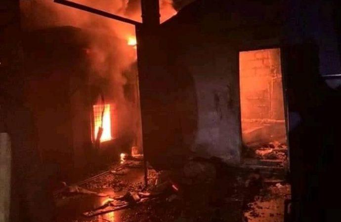 Les Centres Gheskio ravagés par un incendie