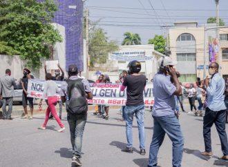 Un sit-in pour réclamer justice et sécurité dispersé de force par la police