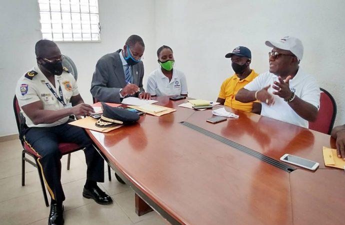 Navigation: Visite d'inspection du directeur général du SEMANAH dans le Nord'Ouest