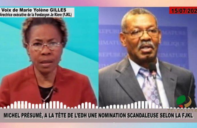 Preuve à l'appui, Michel Présumé dément les «accusations mensongères» du FJKL