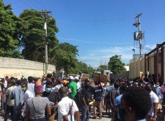 La police disperse une nouvelle fois un sit-in pacifique à coup de gaz lacrymogène