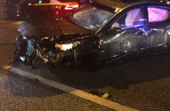 Arly Larivière victime d'un accident de circulation !