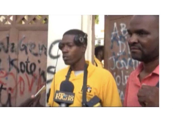 Incident à la CSCCA : un cameraman de Télé Ginen affirme avoir subi des agressions physiques