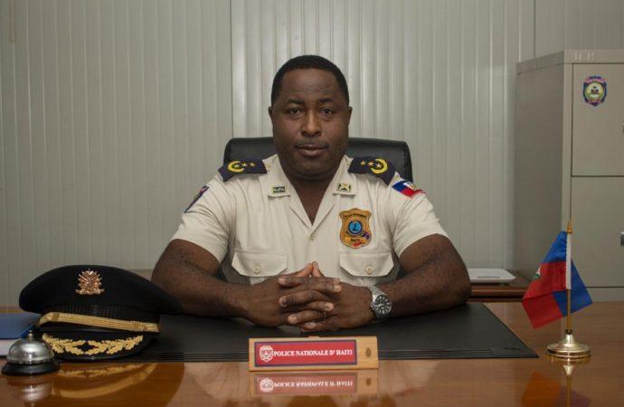 Berson Soljour promu inspecteur général   de la PNH