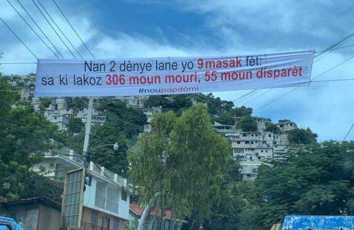 «Nou Pap Dòmi » lance une campagne contre la banalisation de la vie