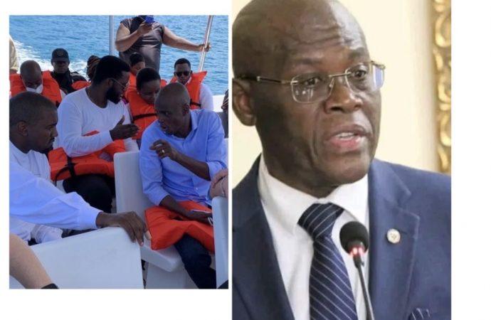 Kanye West affirme que Jovenel Moïse lui a offert une île, Joseph Jouthe dément