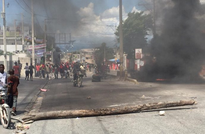 La manifestation de l'opposition dispersée, plusieurs blessés par balles dont un policier membre du SPNH