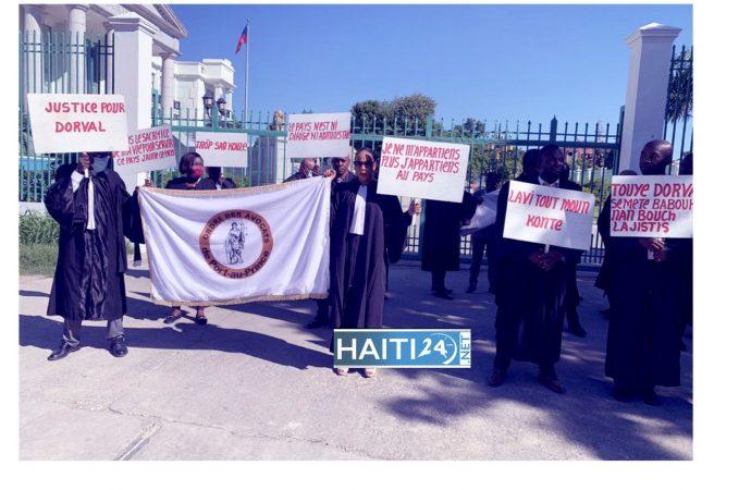 Assassinat de Me Dorval, le barreau de Port-au-Prince poursuit sa mobilisation
