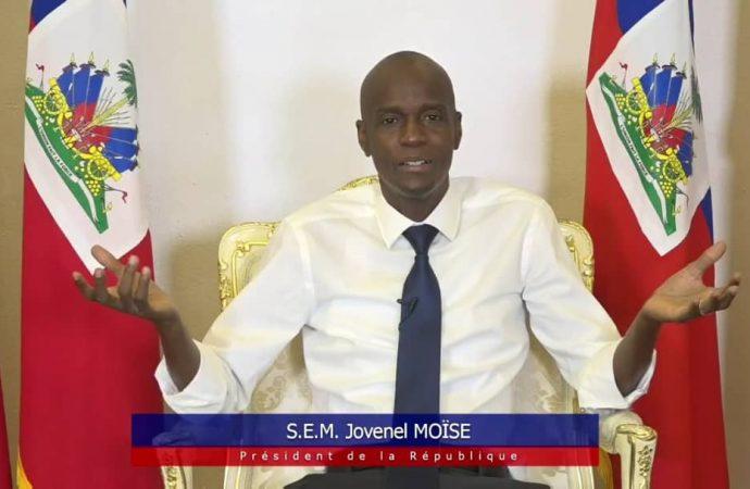 En direct, Jovenel Moïse a interagi avec des membres de la population sur des sujets préoccupants