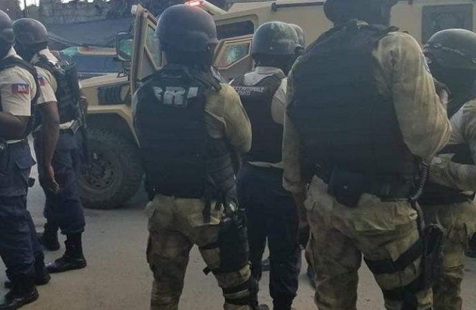 Centres Gheskio : la police expulse les bandits, reprend le contrôle du bâtiment