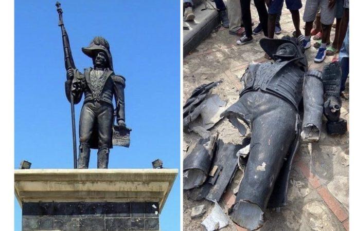 Un homme arrêté pour avoir profané le momument de Jean-Jacques Dessalines