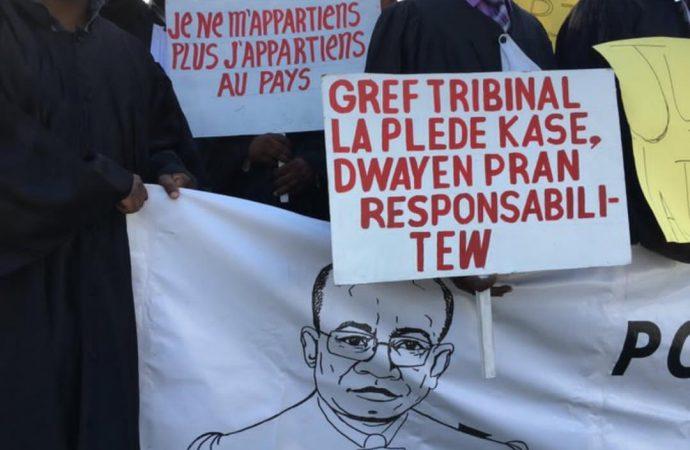 Les avocats du barreau de Port-au-Prince continuent d'exiger justice pour Me Monferrier Dorval