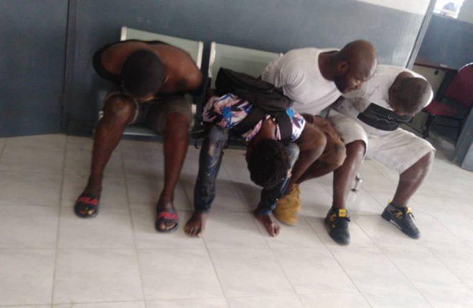 Arrestation de quatre présumés bandits membres du gang «5 secondes»
