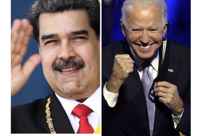 Nicolas Maduro salue l'élection de Joe Biden