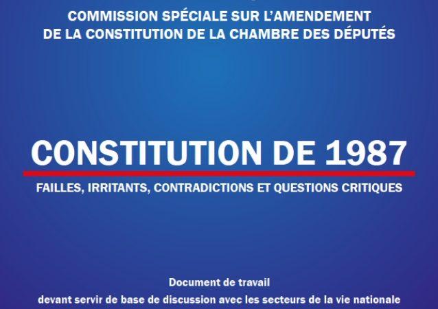 Projet d'élaboration de la nouvelle constitution : le CCI poursuit ses consultations