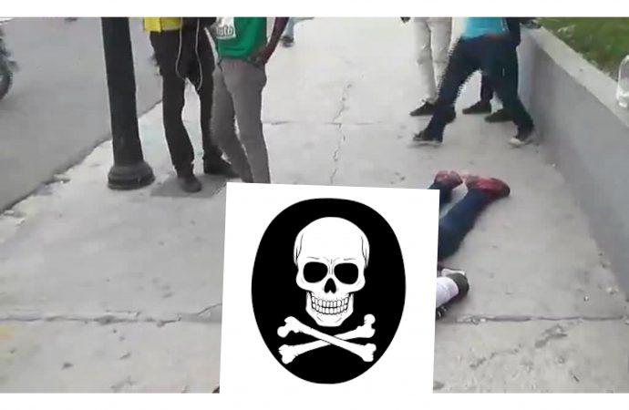 Manifestation du 18 novembre : un morts par balles, plusieurs blessés, véhicule de police et une station de service incendiés