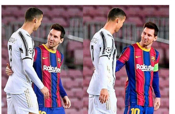 Pour Christiano Ronaldo, Messi n'est pas un rival !
