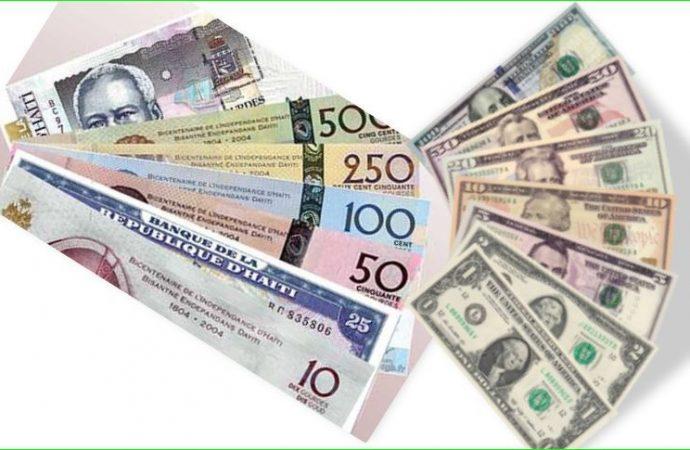 Taux de référence : la BRH affiche 71,05 gourdes pour un dollar