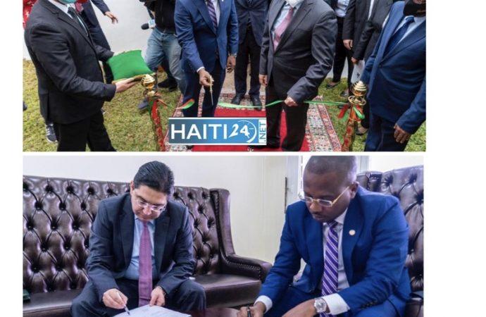 Diplomatie : Ouverture d'une Ambassade haïtienne au Maroc