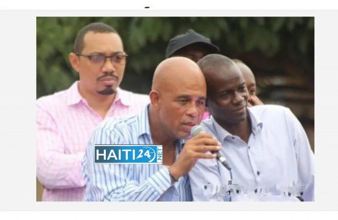 Jovenel Moïse multiplie les décrets, Michel Martelly salue en lui un homme courageux